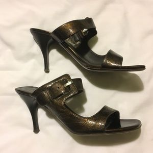 Donald J. Pliner Shoes - Donald J. Pliner Signature Nelia Bronze Size 9.5M